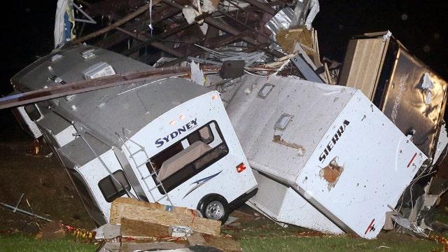 Rep. Griffin assesses tornado damage in Arkansas