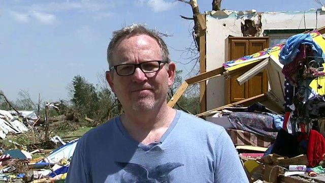 Tornado survivor recalls harrowing ordeal