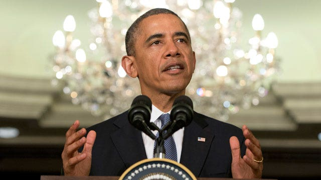President Obama announces new sanctions against Russia