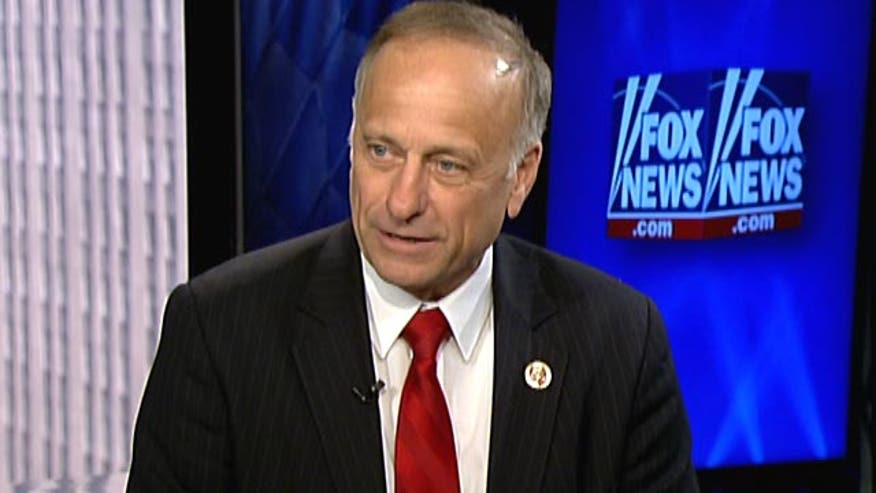 Rep. Steve King responds to recent attack ads regarding his comments on immigration