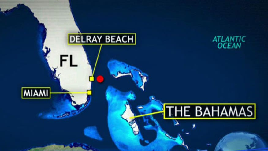 Authorities search off Florida coast