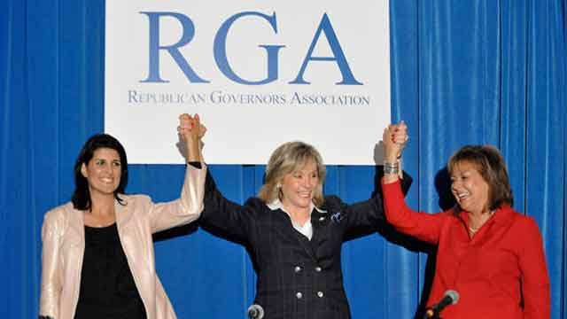 New glass ceiling for Republican women?