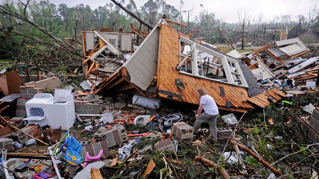 Mississippi lawmaker's faith helps family survive tornado