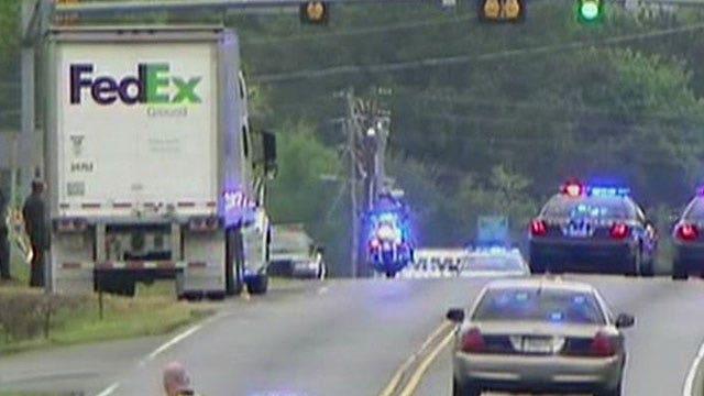 Shooting leaves 6 injured at FedEx building