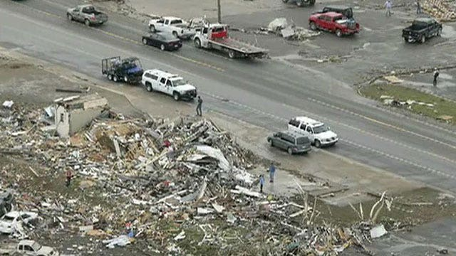 Crews search for survivors after tornadoes kill dozens