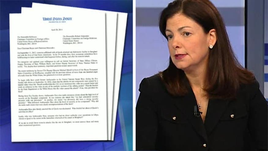 Sen. Kelly Ayotte on ongoing questions surrounding Benghazi Rice briefings and more