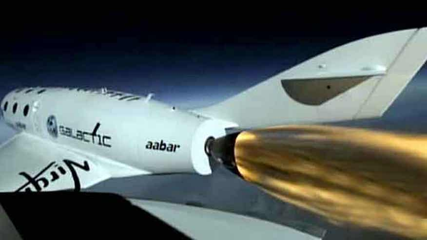 Virgin Galactic spaceship makes history
