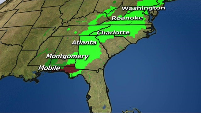 National forecast for Wednesday, April 30