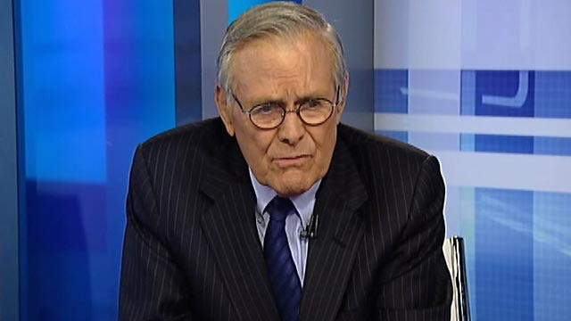 Rumsfeld: US has become unreliable to world under Obama