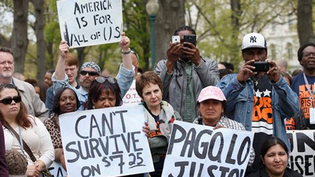 Senate blocks bill to raise federal minimum wage