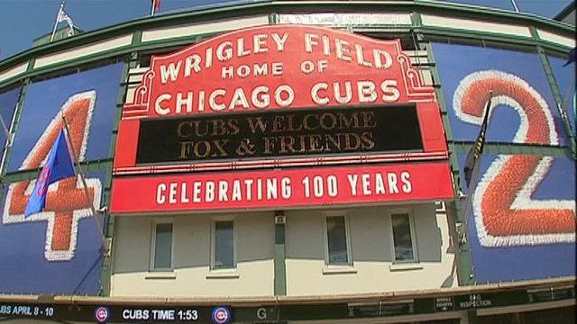 'Fox & Friends' celebrates 100 years of Wrigley Field