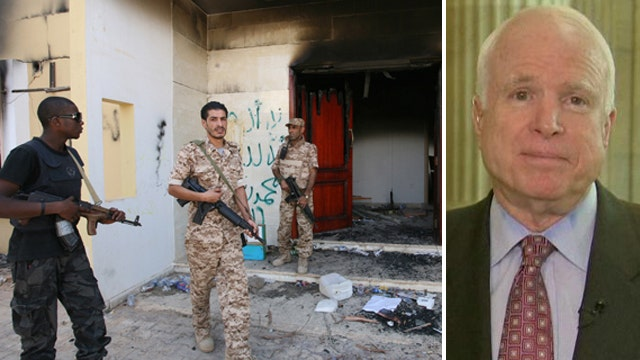McCain calls for select committee on Benghazi 'cover-up'