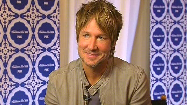 Keith Urban reveals key to performing live