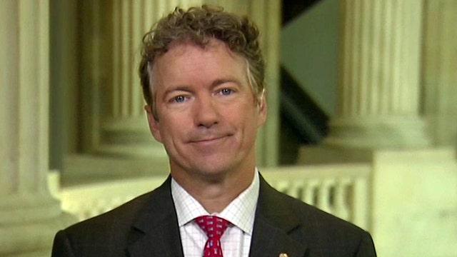 Rand Paul on White House 'politicizing' Benghazi scandal