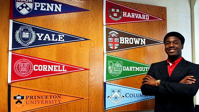 Ivy League-bound teenager makes big decision