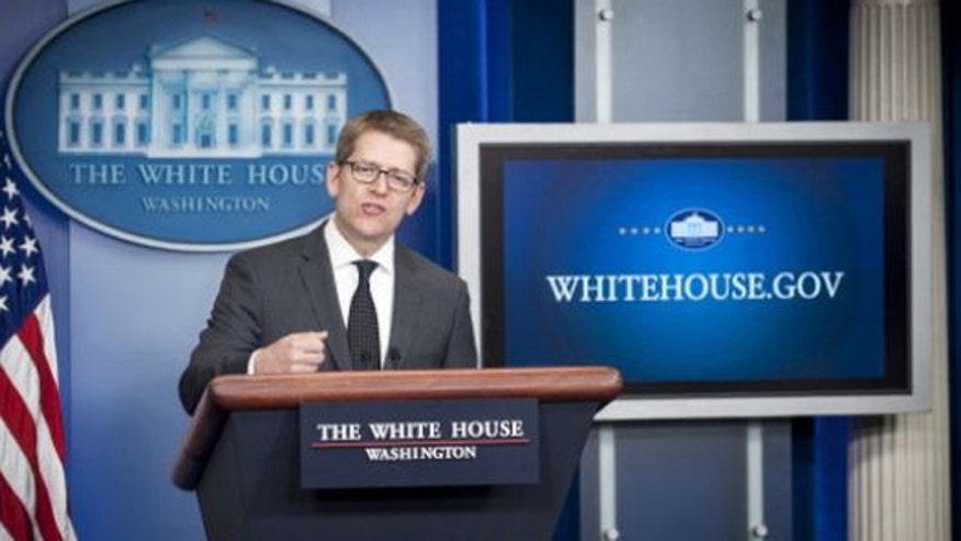 Reporters grill Press Secretary Jay Carney
