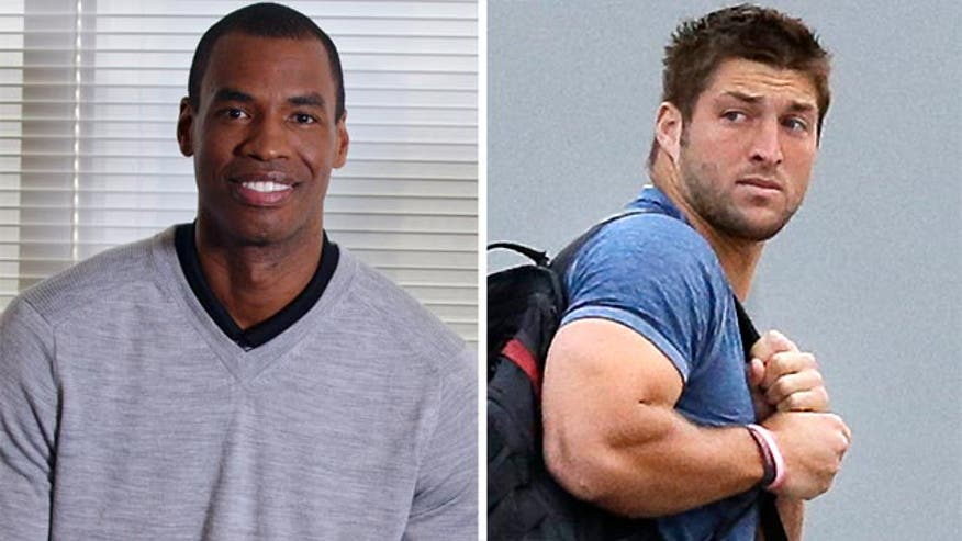 Media coverage of Jason Collins vs. Tim Tebow