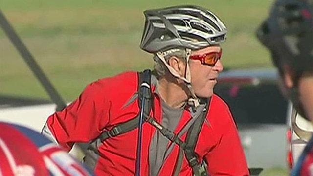 President George W. Bush hosts fourth annual Warrior 100K