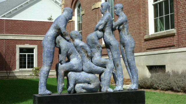 Michigan town sculpture offensive or art?