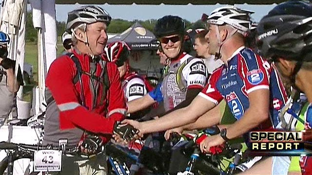 Bush bikes with wounded warriors in annual 100k