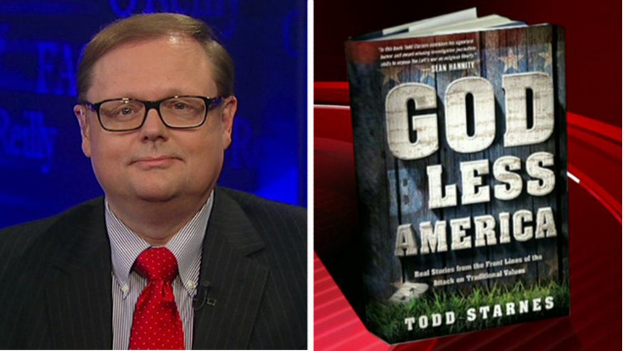 Todd Starnes on his new book 'God Less America: Real Stories From The Front Lines Of The Attack On Traditional Values'