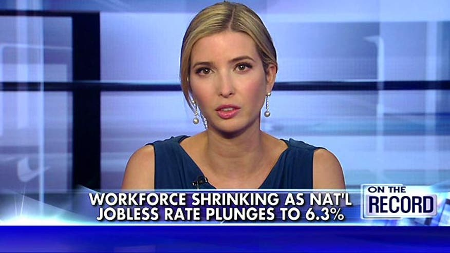 The unemployment rate has fallen to 6.3 percent, but what kind of jobs are being created? Ivanka Trump sounds off