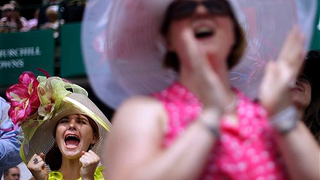 Kentucky Derby: Big day for gamblers and fashionistas