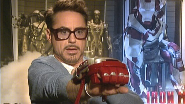 'Iron Man 3': Stars vs. toys