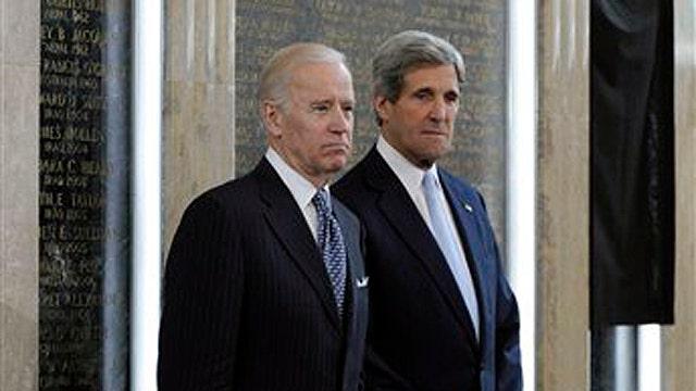 Biden, Kerry honor Benghazi attack victims