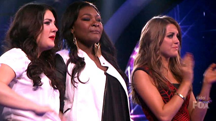 One more gets the boot on idol. Ashley Dvorkin weighs in on the top three contestants