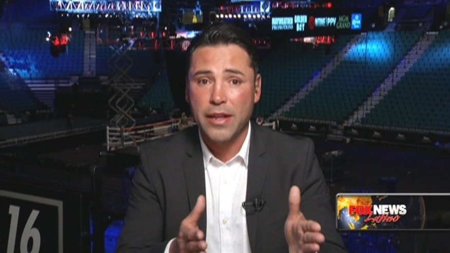 Boxing legend Oscar De La Hoya breaks down the Mayweather-Guerrero fight.