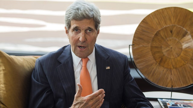 Kerry to Russia: End backing of insurgents in Ukraine