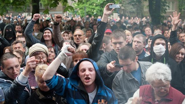 Ukraine crisis growing