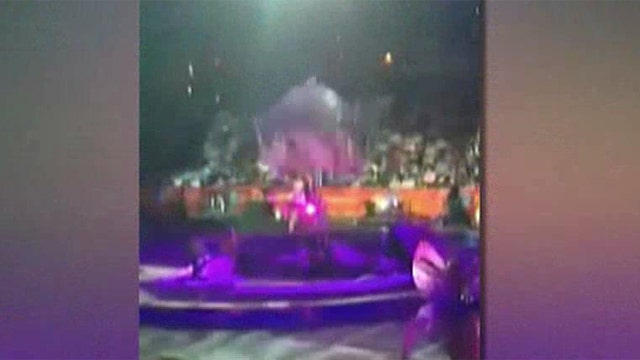 Circus performers fall more than 20 feet during performance