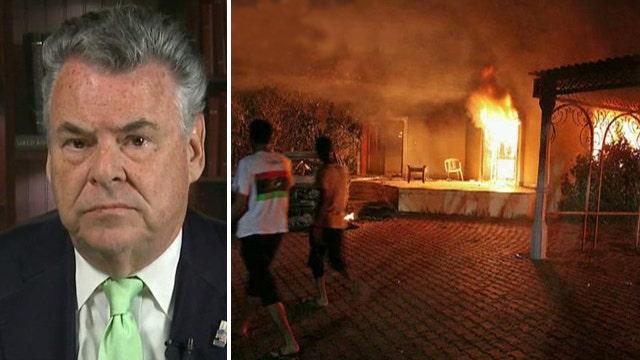 Rep. King blasts Dem's call to boycott Benghazi probe