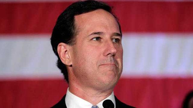 Alan Colmes and Rick Santorum