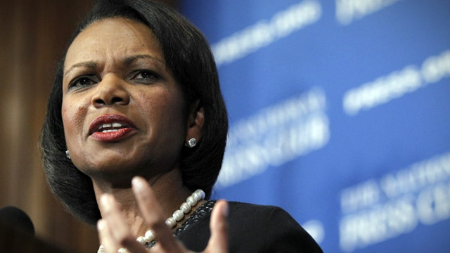 Left wing intolerance and Condoleezza Rice