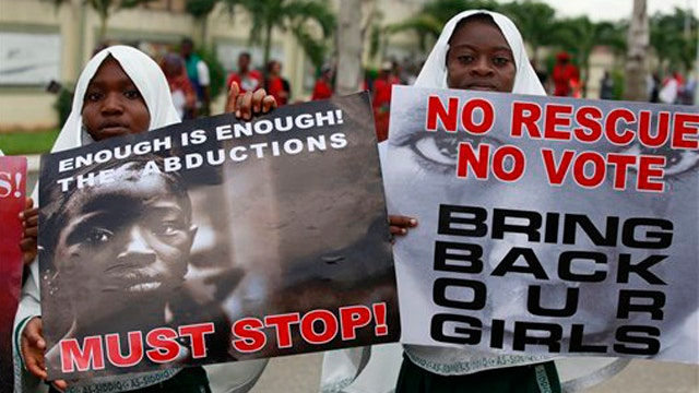 World doing enough to free kidnapped Nigerian schoolgirls?