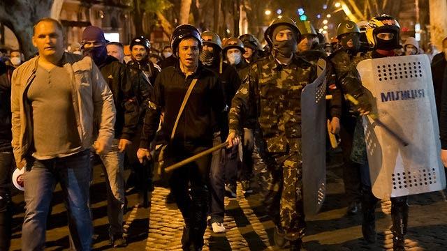 Deadly fighting escalates in Odessa amid Ukraine crisis