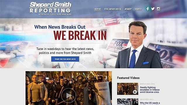Shepard Smith unveils new interactive show website