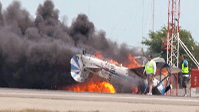 Veteran stunt pilot killed in air show crash