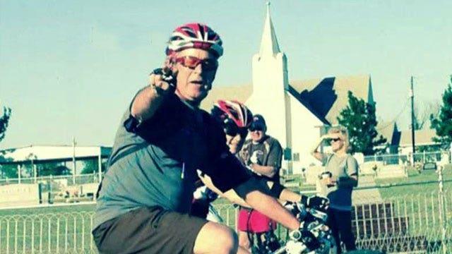 President Bush leads 100K bike ride for wounded veterans