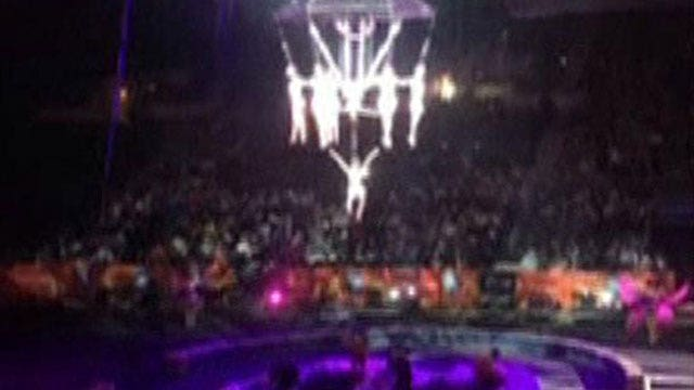 Circus acrobats seriously injured in accident