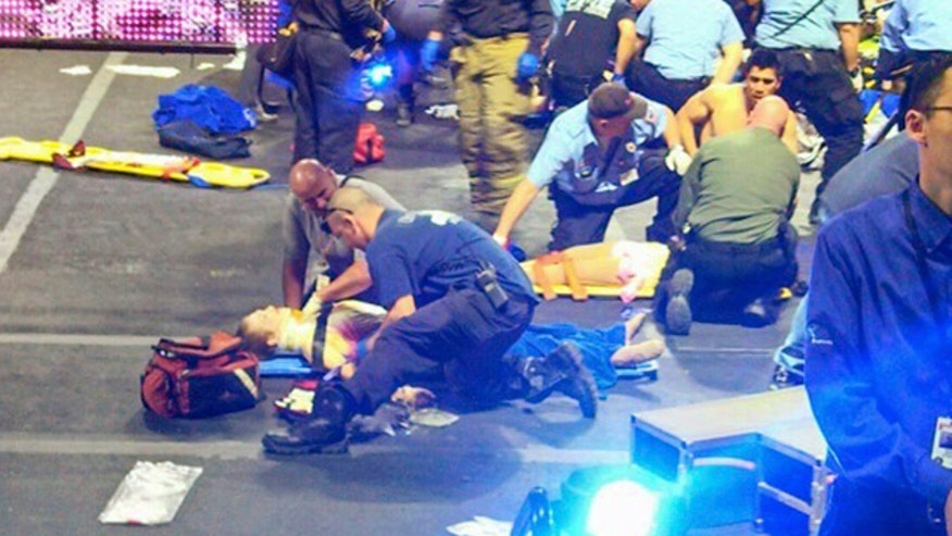 Performers hanging by their hair injured during Ringling Bros. act