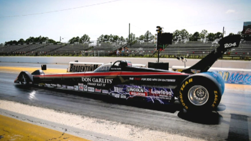 "Drag racing legend ""Big Daddy"" Don Garlits talks to Fox Car Report about his new electric dragster and quest to hit 200 mph."
