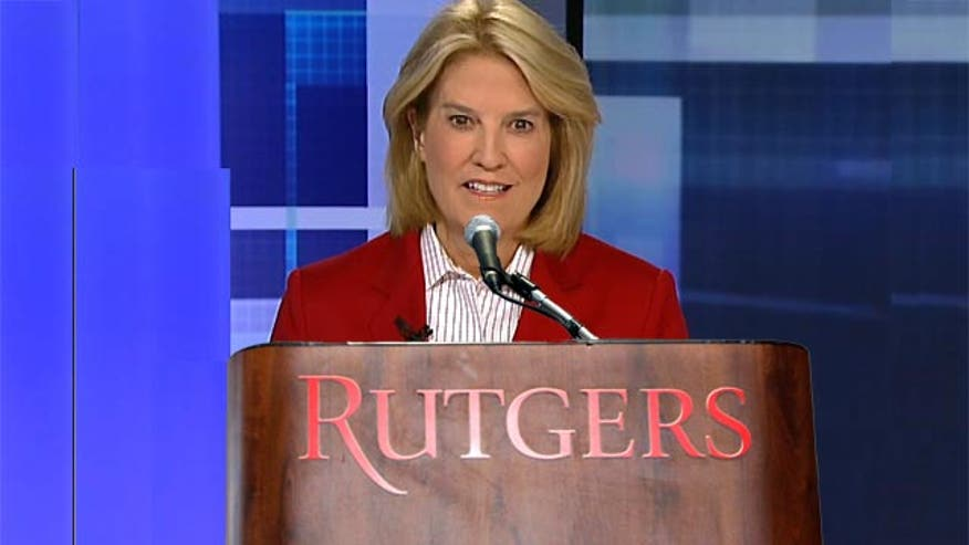 'Off the Record,' 5/5/14: Rutgers caved and forced former Secretary of State Condi Rice to withdraw as commencement speaker instead of championing the free speech. If Rutgers lets me give the address, guess what my topic will be?