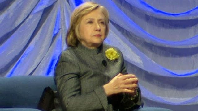 Hillary Clinton discusses the issue of suicide
