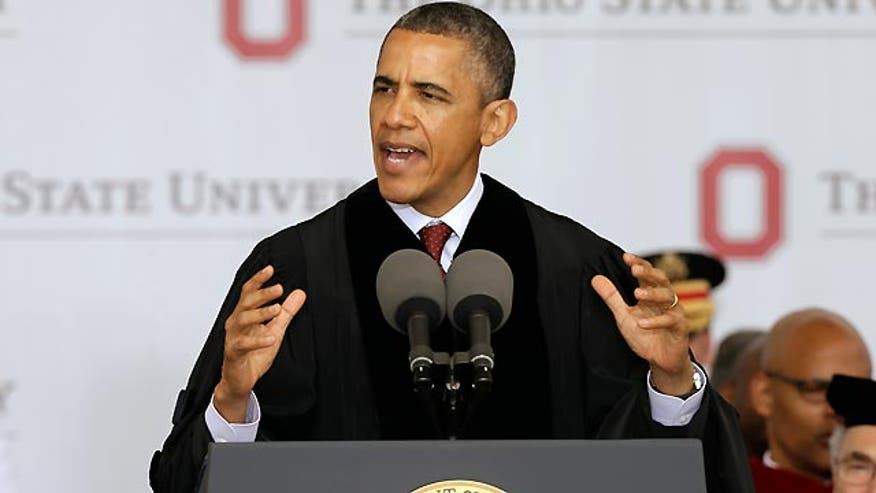 Obama's recent comments at Ohio State University