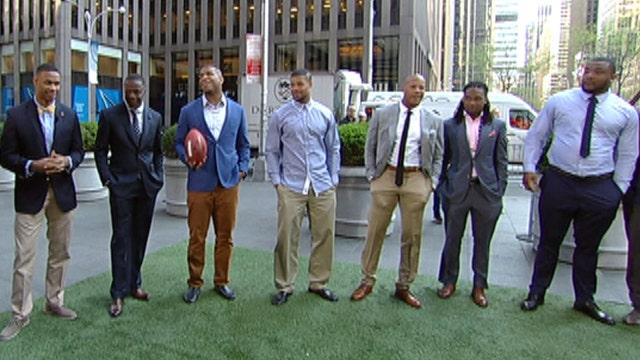 Meet 15 of the NFL's future stars