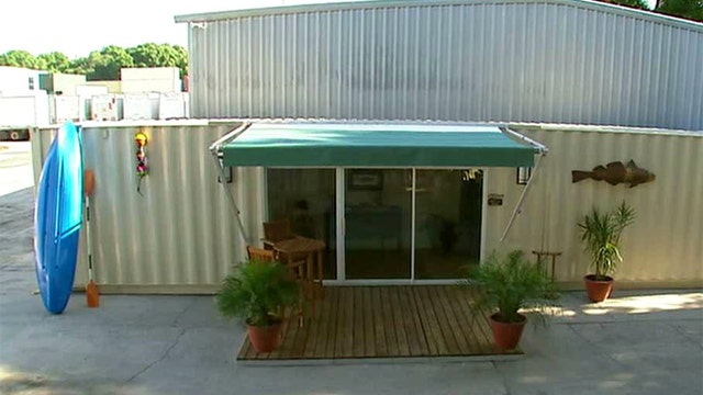 Company recycles shipping containers into affordable homes